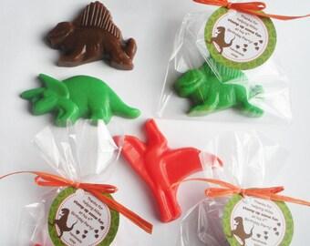 Dinosaur Party Favors Dinosaur Dig Party Favors Dinosaur Roar Shower Favors Soap (20 complete favors with tags)