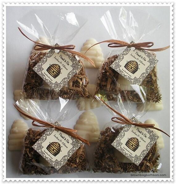 Custom Listing-60 Bee Hive Soap Favors