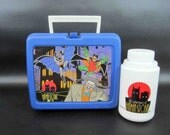 Vintage Batman And Robin Lunchbox with Thermos