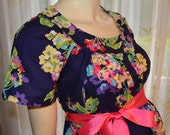 Trendy Maternity Hospital Gown/AWESOME floral print