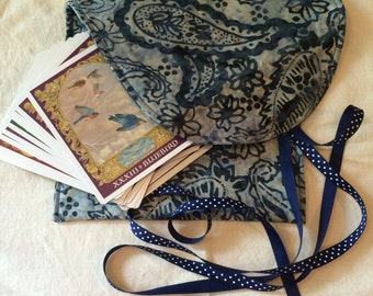 Tarot Tote- One Size Fits All Regular Size Tarot And Oracle Decks! Even Multiple Decks!
