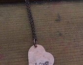 LOVE Necklace - Ready to Ship