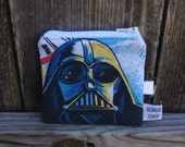 Darth Vader Mini Wallet with ID Holder Recycled