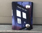 Dr Who Tardis Fold Chain Wallet