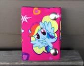 My Little Pony Rainbow Dash 3 Fold Chain Wallet