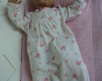 Bitty Baby  girl Cute   Sleeper, doll clothes