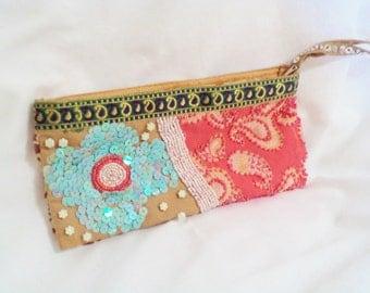 festival bag, festival purse, music festival, upcycled bag, upcycled purse, hippy bag, gypsy bag, beaded bag, beaded purse