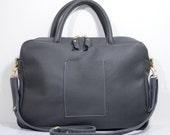 Handmade leather Alice satchel