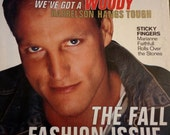 Details 1994  fashion glam London night life Woody Harrelson style Marc Jacobs ad