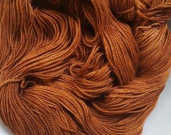 Wrangler -- Pure Sock -- Hand Painted Superwash Merino Wool Sock Yarn