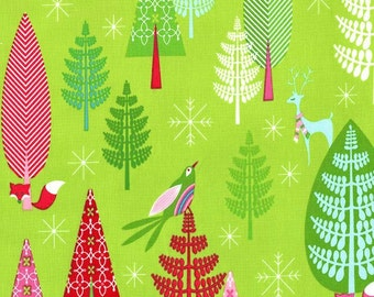 Winter Woods  in Garland | Festive Forest Tamara Kate | 1 Yard