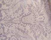"""13"""" x 26"""" White on White Print Lycra Fabric"""
