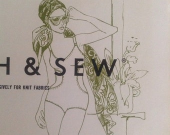 Stretch and Sew 1395 Gathered One-Piece Swimsuit