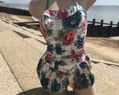 Vintage Swimsuit - circa 1950s - by Trend - size Small