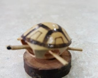 Bamboo carved Turtle