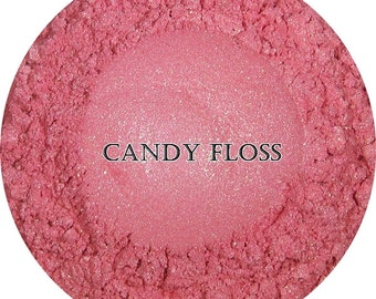 Loose Mineral Eyeshadow-Candy Floss
