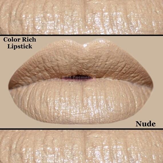 Beige Nude Color Rich Lipstick- Nude
