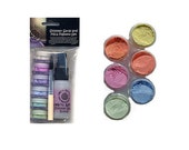 Mica Pigment Powders from England - Cosmic Shimmer - for Polymer Clay, Paper Crafts, Nail Art etc