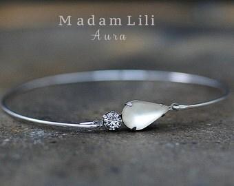 AURA Silver-plated Bracelet