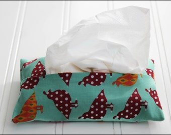 Quail Run Tissue Cozy
