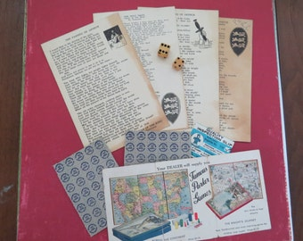 Very Vintage Ephemera and Dice