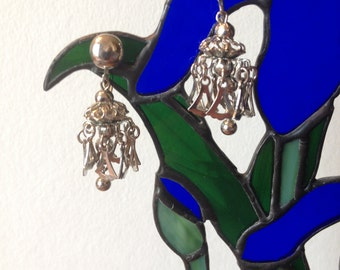 Dangling Celebration Earrings Screw Back