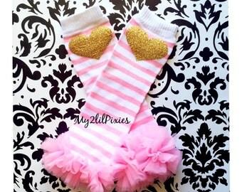 LEG WARMERS, baby girl leg warmers, girls leg warmers, pink leg warmers, gold leg warmers chiffon ruffle leg warmers, girl leg warmers