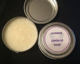 2 ounce Lavender Lemon Lip Balm