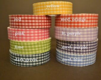 Gingham Cotton Tape (FB-154)