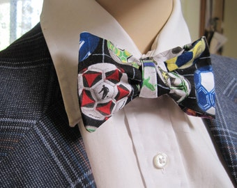 Soccer Ball Bow Tie