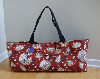 Xlarge Yoga Bag with Quilted Lining. Made to Order!!