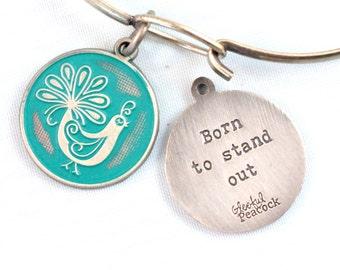 Stand Out Reminder Token Charm Bracelet or Necklace