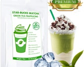 STARBUCKS Matcha Green Tea Frappe comparable, 100% Natural - FREE USA Shipping