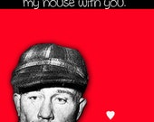 Ed Gein I Want To Decorate My House With You card