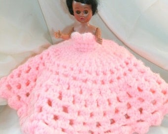 Toilet paper cozy doll