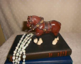 Clysdale Figurine Horse Statue Western Decor Draft Horse