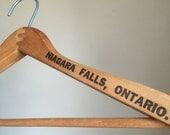 Vintage Fallsway Hotel Niagara Falls Wooden Hanger.