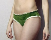 cotton velour panties - made to order