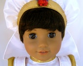 New 18 Inch American Girl Doll with a New Boys Wig and Dressed as Aladdin