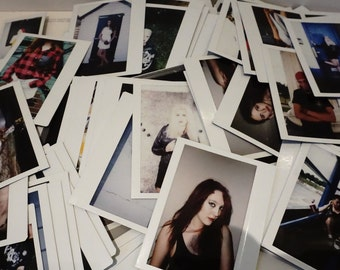 Bundle of 10 Random Fuji Instax photos from model shoots