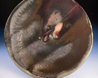 Dinner Plate, Large Plate, Tableware, Dishes, Woodfired Porcelain Blend Ceramic Pottery by Justin Lambert