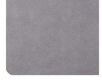 Shannon Fabrics Mar Bella Solid Cuddle Plata