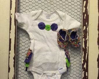 Ruffle Butt Onesie/Coming home/Baby Girl/Baby shower gift