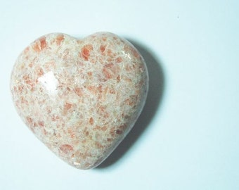 Sunstone puffy healing heart