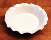 two for the price of one. ceramic pie dish, Shipping included, Entertaining with Beth pie plate,  deep dish deep pie dish, white pie dish