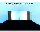 Choker, Metal Brass