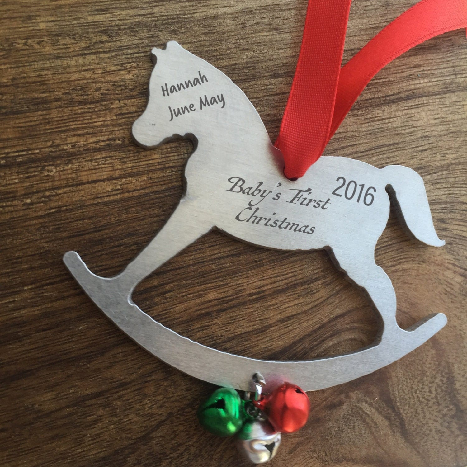 Baby's First Christmas Ornament Personalized by ...