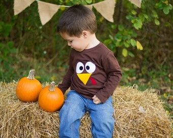 Toddler Thanksgiving Shirt, Turkey Shirt Photo Prop infant toddler adult