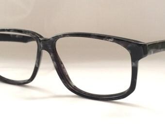 80s Vintage German Metzler D-Frame Eyeglasses