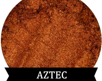 Burnt Orange Eyeshadow AZTEC